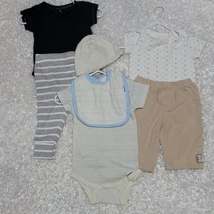 3-6mth baby BOY bundle outfits
